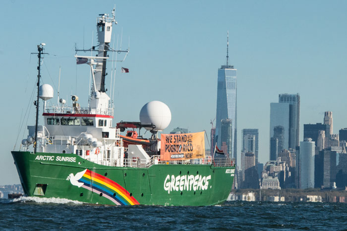 Greenpeace Joins Our Power PR