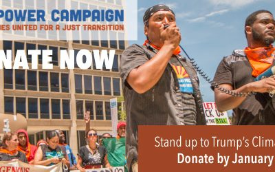 Confront Climate Lies NOW. Support Our Power Climate Justice Leaders & Solutions Today