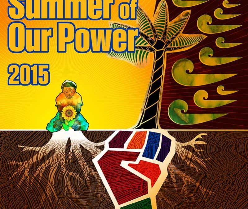 2015 Summer of Our Power Just Transition Fellows