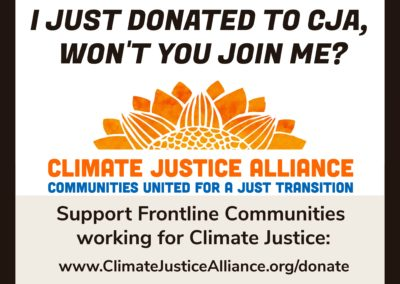 #GivingTuesday Climate Justice Alliance