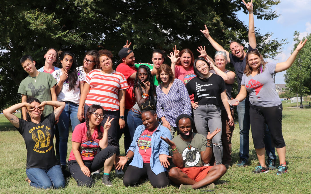 How to Attend a Climate Justice Staff Retreat when the World is on Fire
